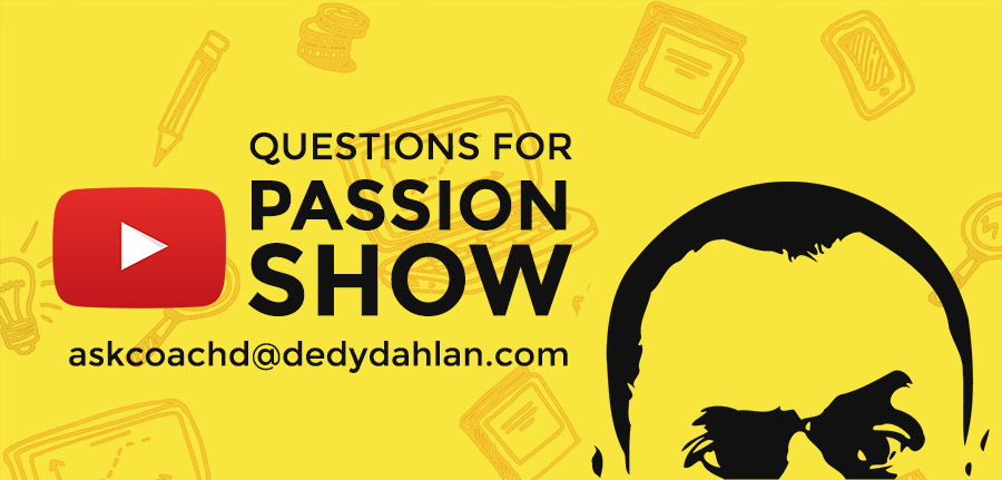 Undang Dedy Dahlan - Passion Coach